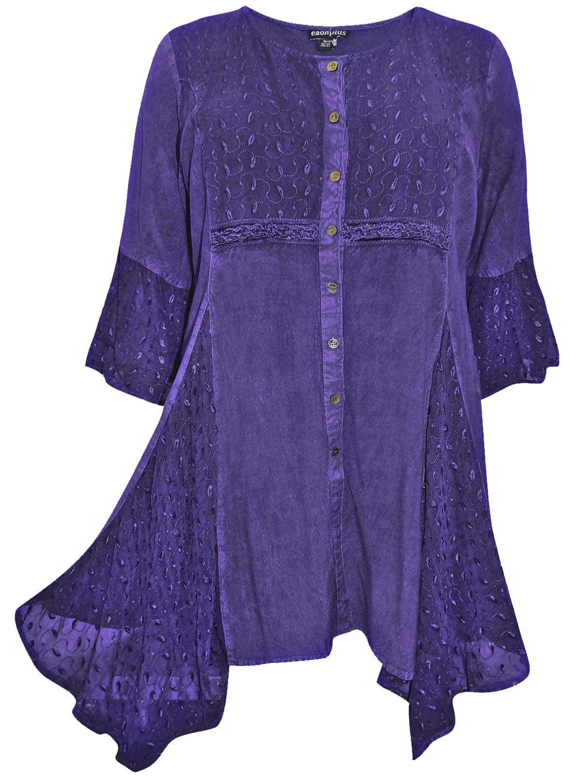Shop plus size tops for women on sale with wholesale cheap price and fast delivery, and find more womens cute trendy plus size lace tops & bulk plus size tops online with drop shipping. 20 Next. Quick Shop Plus Size Shredding Cut T-shirt - Purple Iris 2x. VIP Quick Shop Plus Size Stripe Faux Leather Insert Sweater.